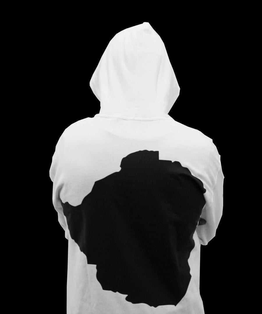 Image of White Soul'd Dreams Hoodie