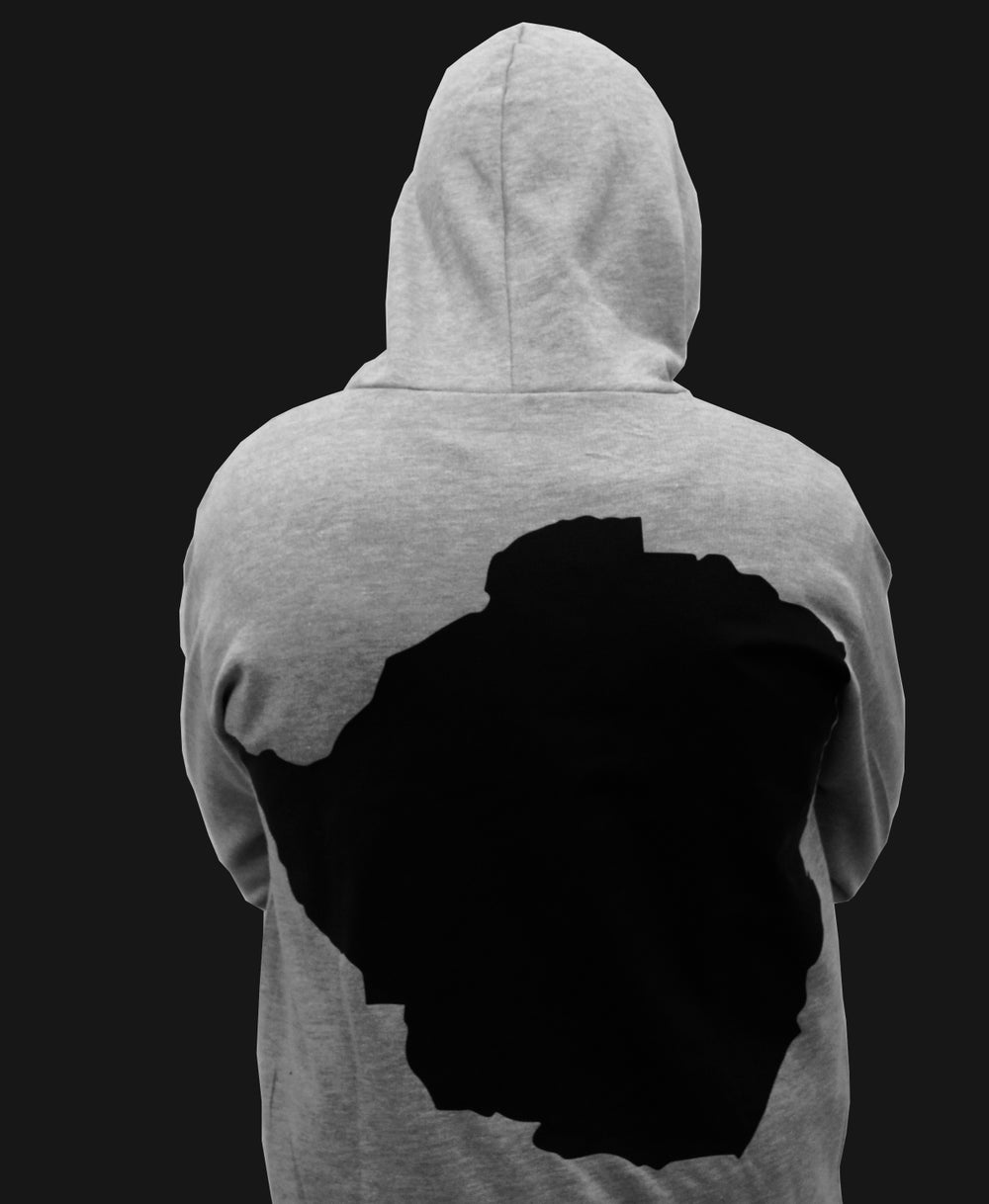 Image of Grey Soul'd Dreams Hoodie (M)