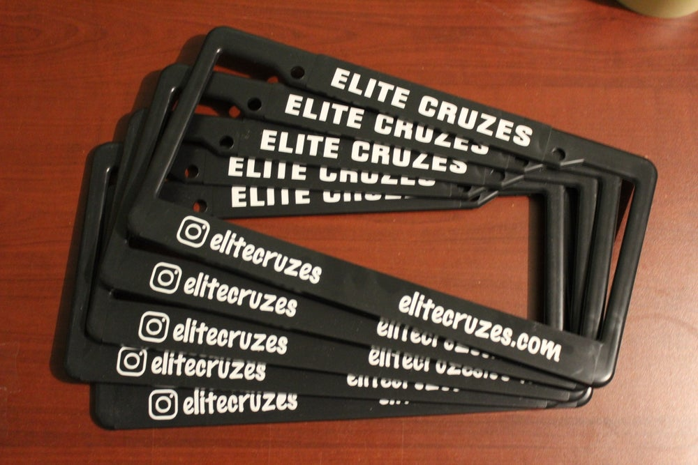 Image of Elite Cruzes License Plate Cover
