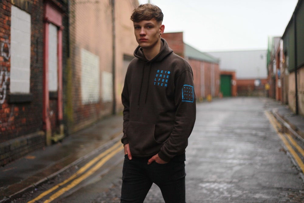 Image of 'BE YOURSELF, BETTER' Supersoft Hoodie by CK Goldiing | SKYLINE EDITION