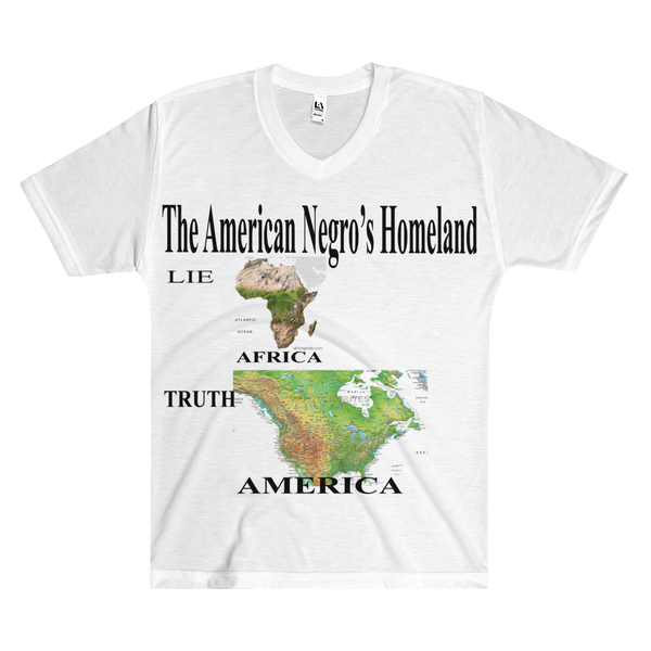 Image of The American Negroes Homeland Full Print Tee