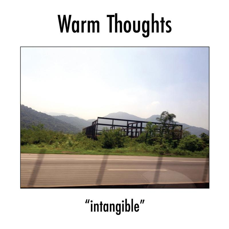 """Image of Warm Thoughts """"Intangible"""" 7"""" Single"""