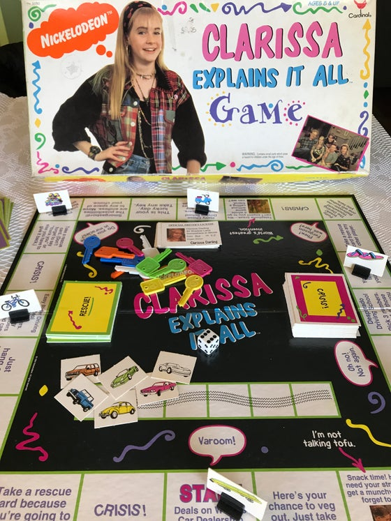 Image of Nickelodeon's Clarissa Explains It All Game!