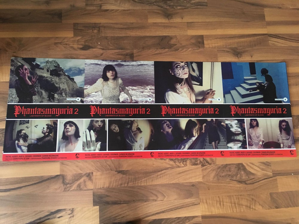 Image of [LIMITED 66] Phantasmagoria 2 Lobby Card Giant Poster (119x42cm) From Berlin Premiere (rolled)