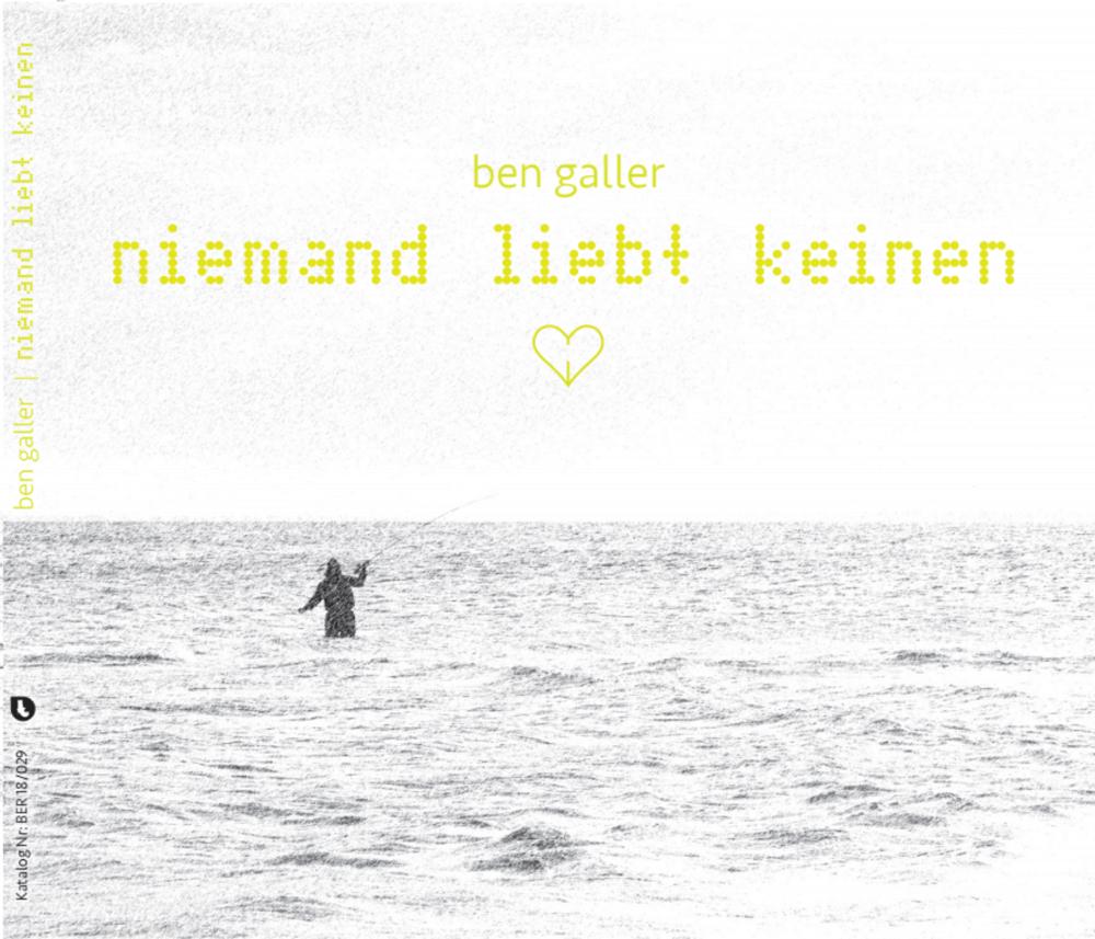 Image of niemand liebt keinen (CD Album)