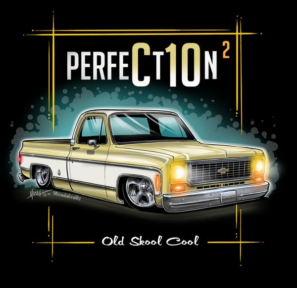 Image of 73 Squarebody Perfection Yellow