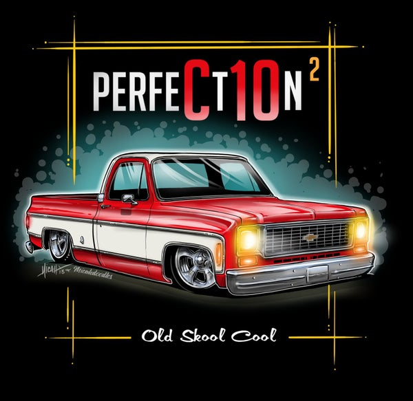 Image of 73 Squarebody Perfection Red