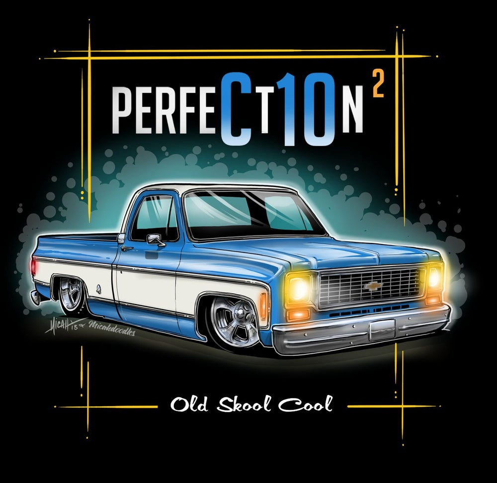 Image of 73 Squarebody Perfection Blue