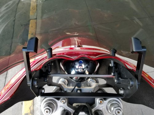 Image of JD Customs Original FXDXT Fairing Kit With Adjustable Windshield - Unpainted