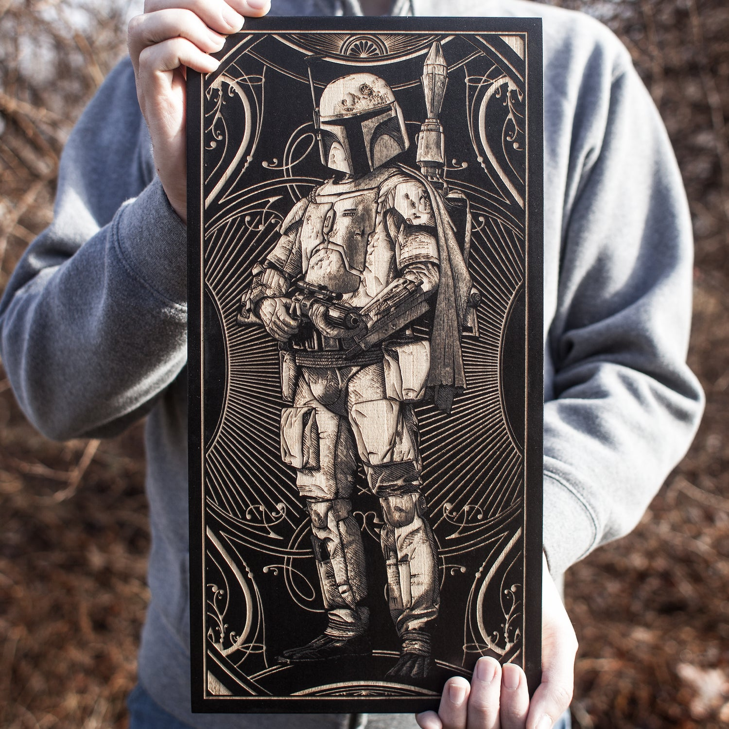 Image of Boba Fett Maple Variant
