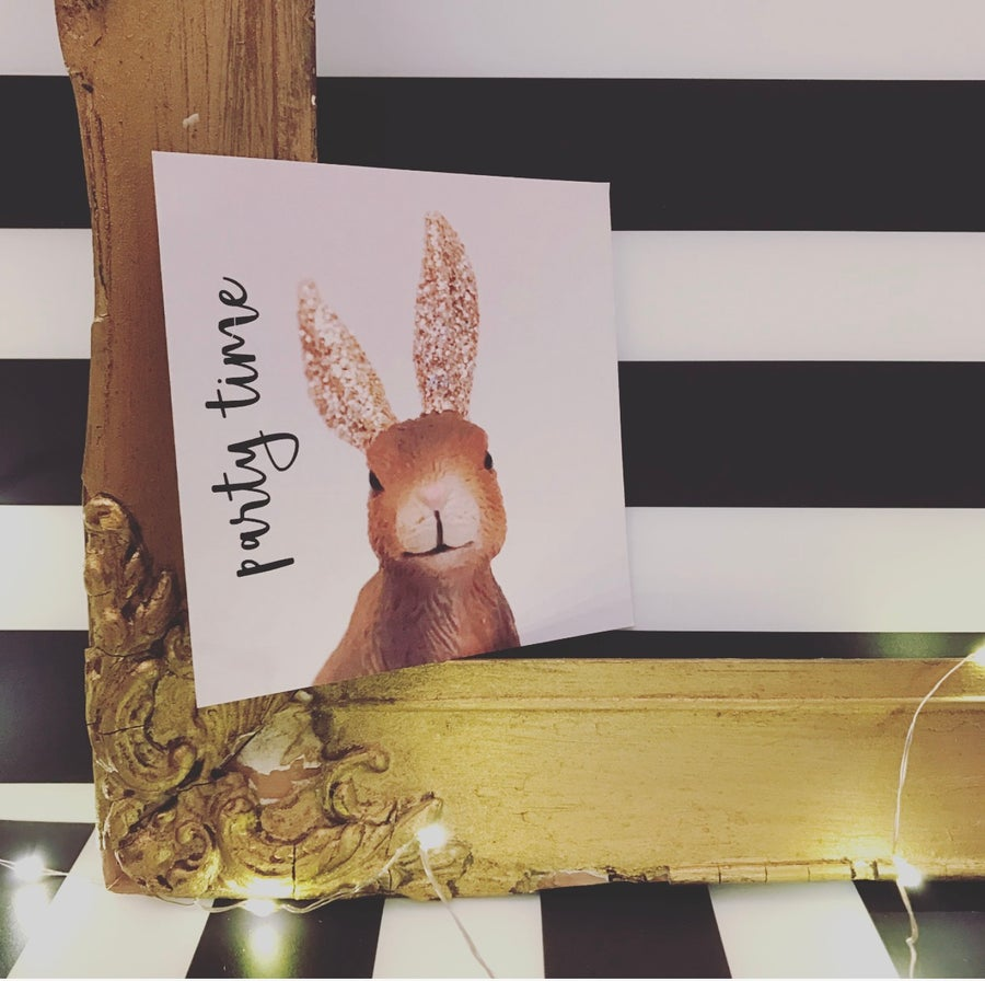 Image of PARTY INVITE HARE