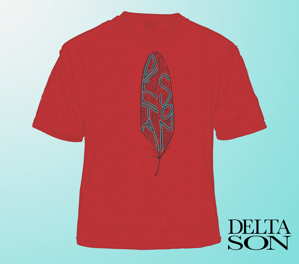 Image of Feather Logo T