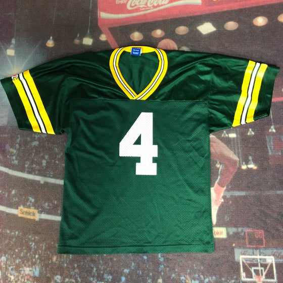 Image of Champion Green Bay Packers Brett Favre Jersey Size Small