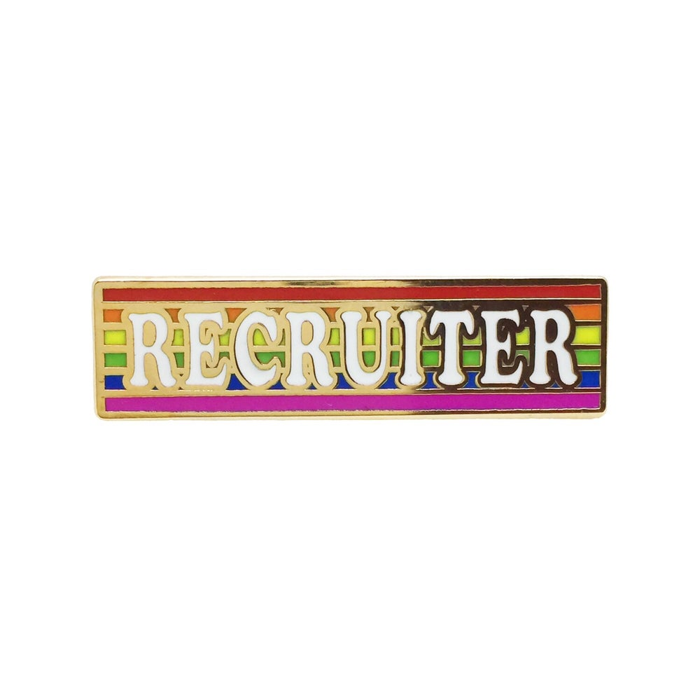 Image of Recruiter Badge