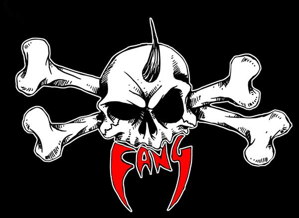 Image of FANG STICKER