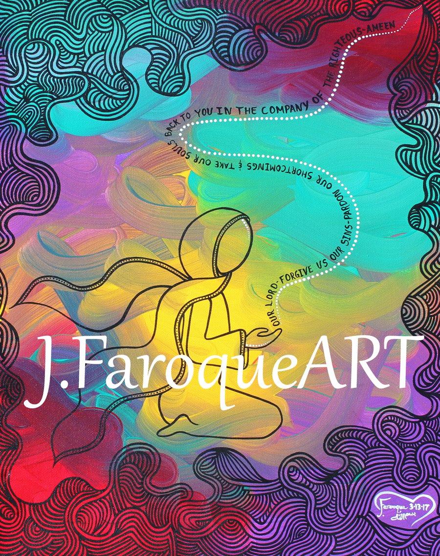 "Image of ""Du'a(prayer)"" Art Print"