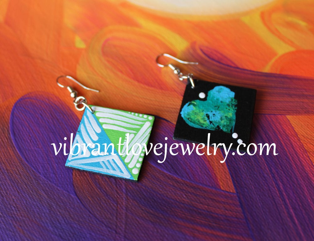 "Image of ""Balance"" Mini Earrings!"
