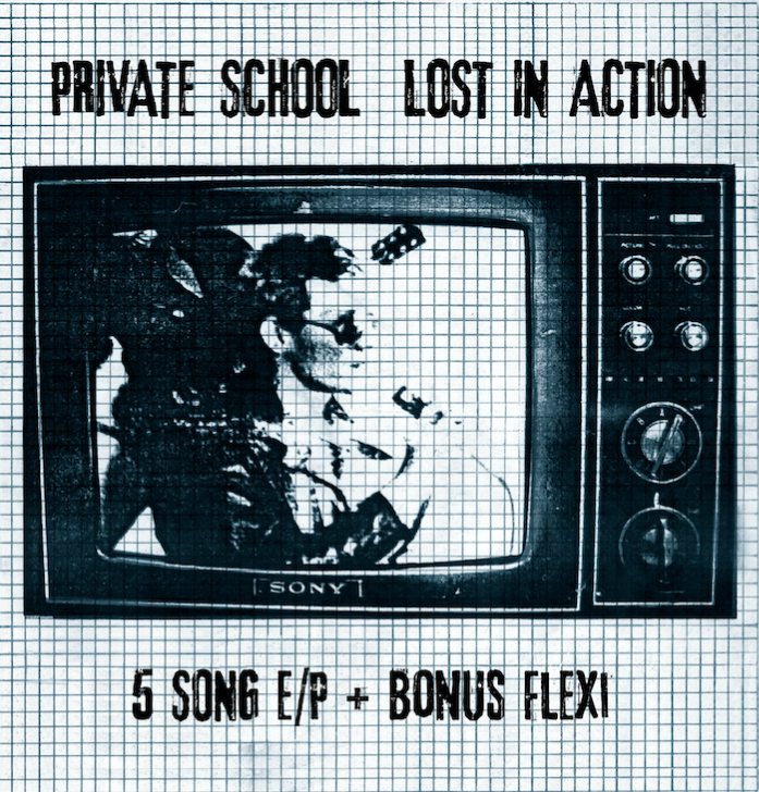 "Image of PRIVATE SCHOOL - ""LOST IN ACTION + BONUS"" 7"" Double EP (1979)"