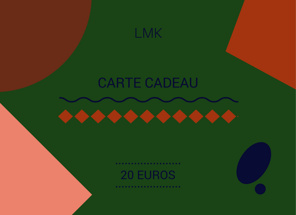 Image of CARTE CADEAU 20 EUROS