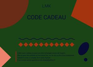 Image of CARTE CADEAU 20 EUROS