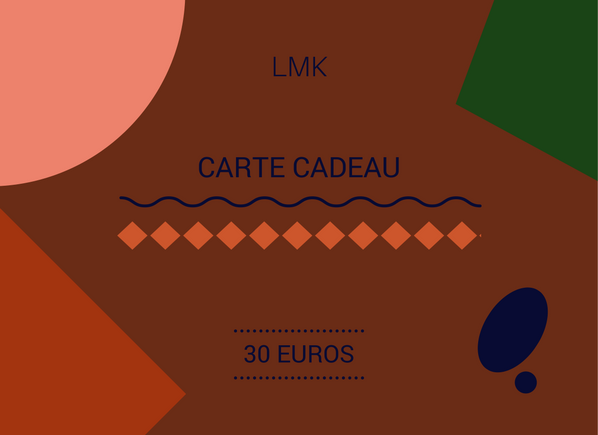 Image of CARTE CADEAU 30 EUROS