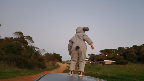 Image of Koala bear outfit אוברול דב קוואלה