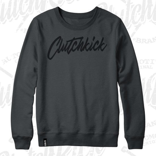 Image of Clutchkick Murdered out CrewNeck
