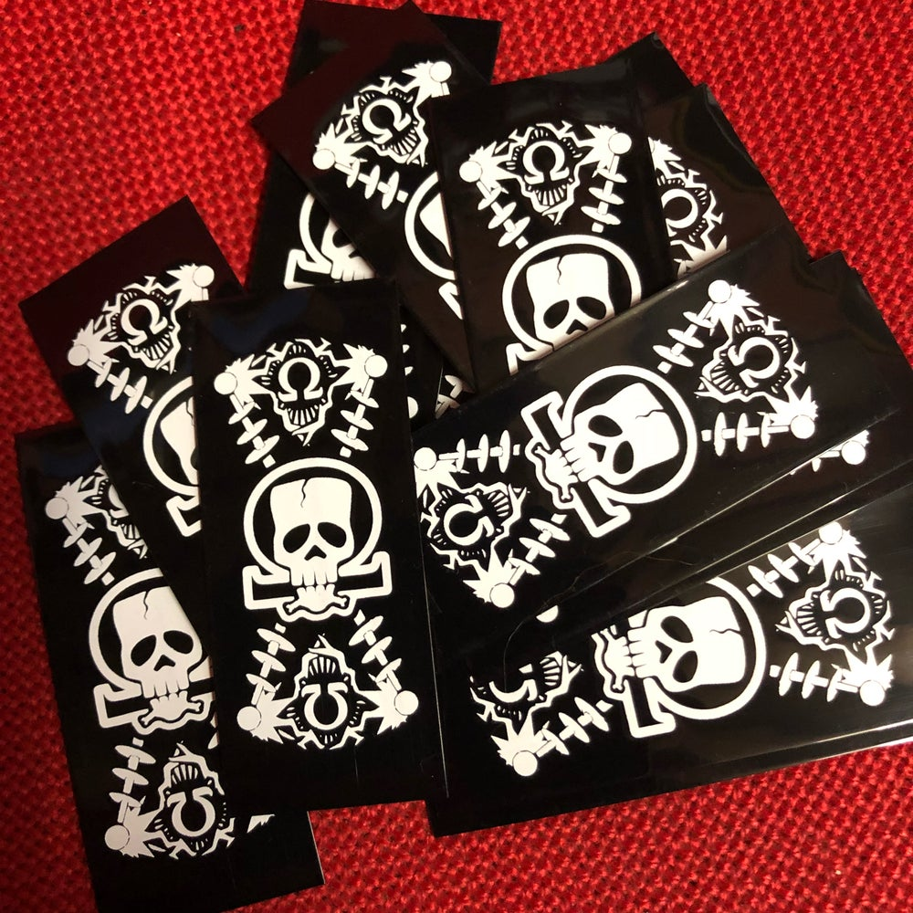 Image of Battery Wrap FrankenSkull (10 pack)