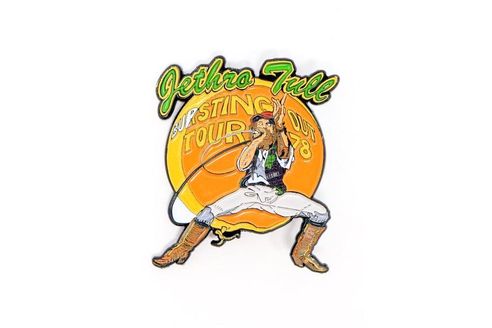 Image of Jethro Tull - Bursting Out Enamel Pin