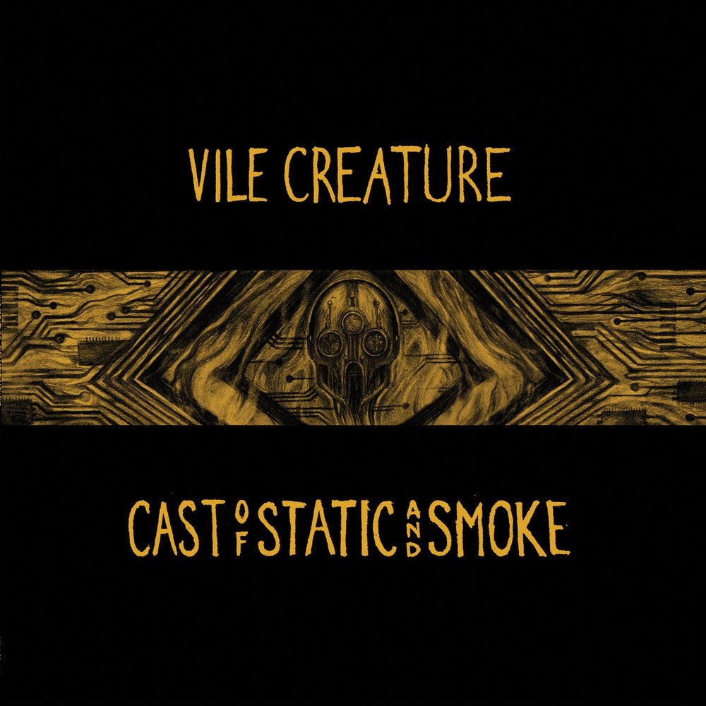 Image of Vile Creature - Cast of Static and Smoke LP (DC34)
