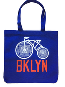 Image of Brooklyn Bike Tote Bag