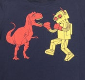 Image of KIDS - Dinosaur Vs. Robot T-shirt