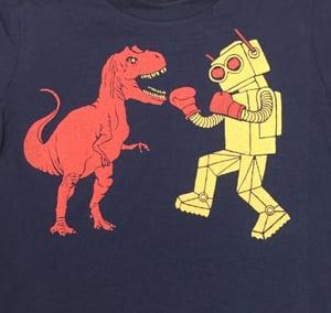 Image of KIDS - Dinosaur Vs. Robot T-shirt