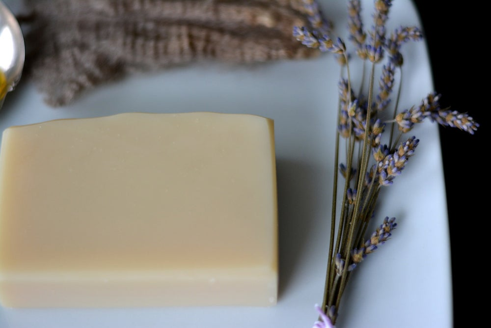Image of Russian Flower - Luxury Bath Bar and Natural Lanolin Wool Wash
