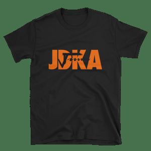 "Image of T-Shirt ""JDKA"" logo"