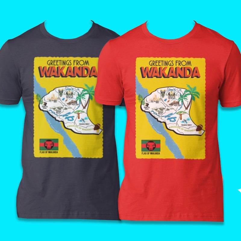 Image of Greetings From Wakanda (Tee)