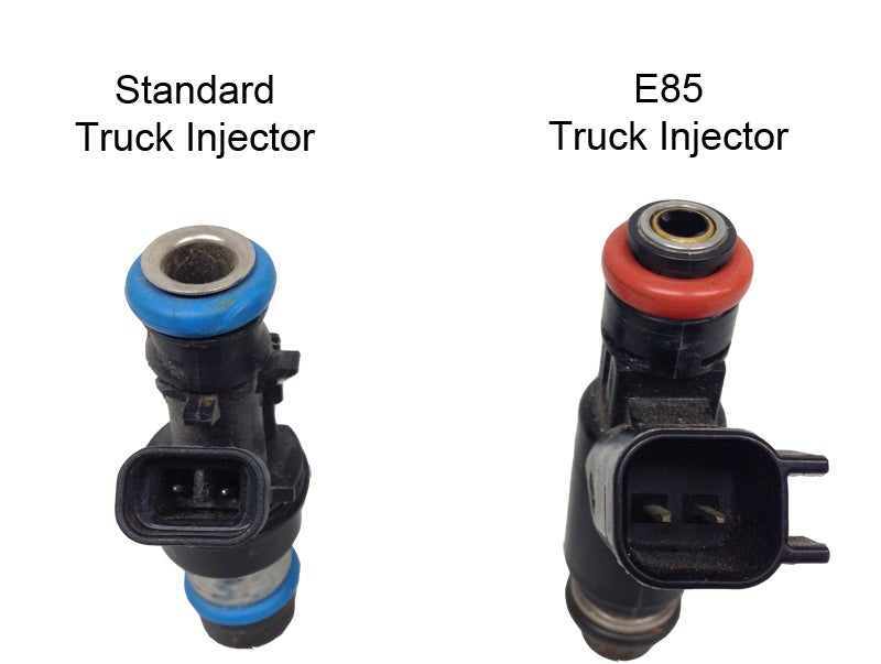 "Image of Set Of 4 Truck ""Flex"" Style Fuel Injectors"