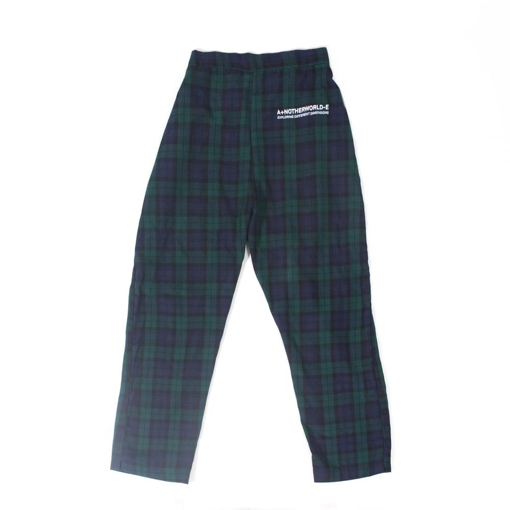 Image of Boxy Plaid Pants