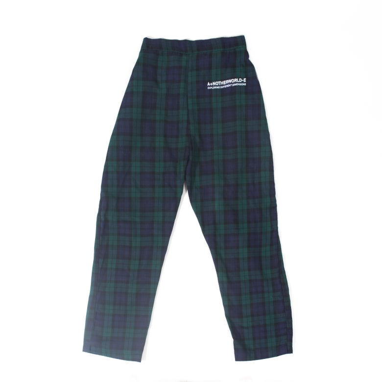 Image of Boxy Plaid Pants