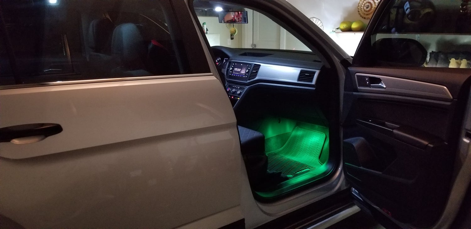 Image of Remote Control Color Changing Footwell LEDs Fits: Volkswagen Atlas all years and trims