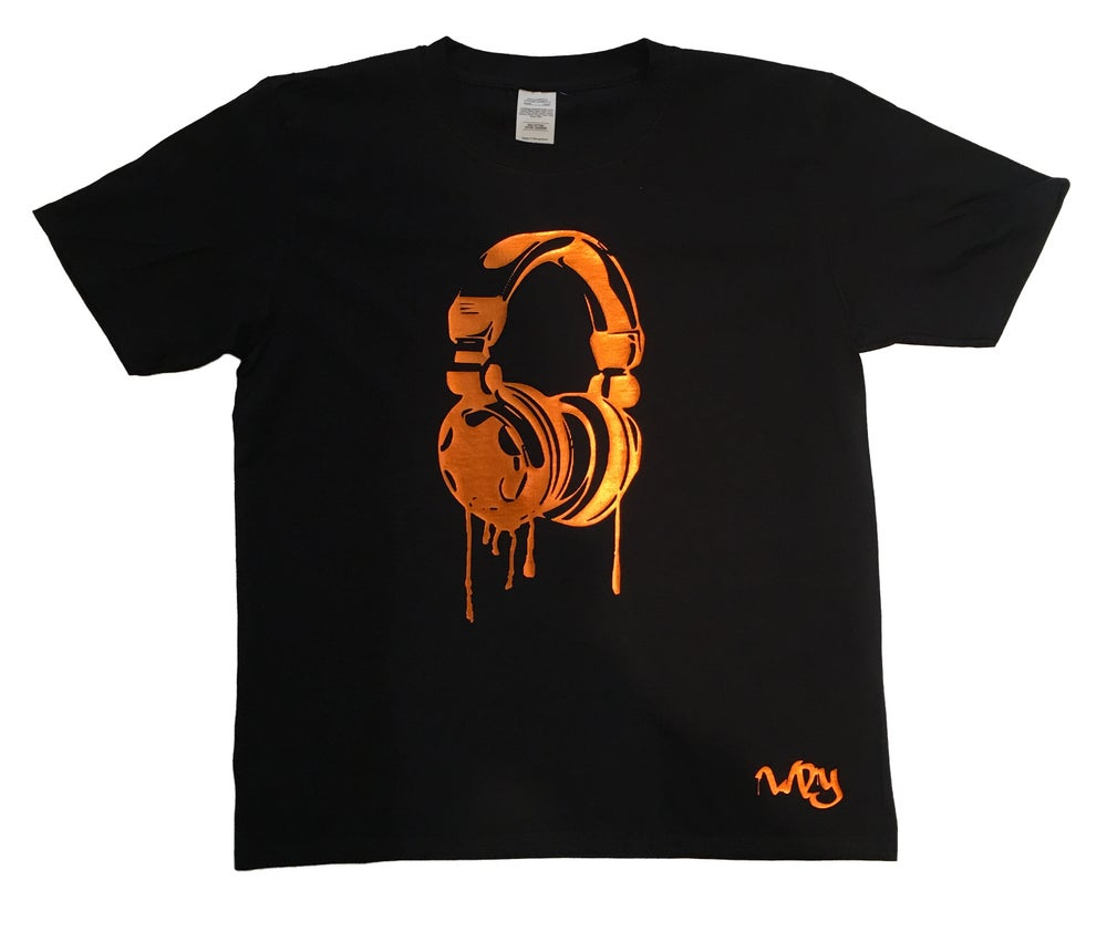 Image of Drip Headphone T Shirt