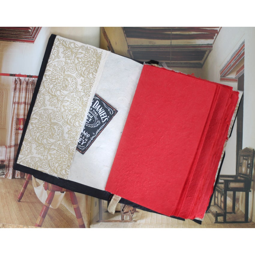 Image of 'Stormborn' red notebook