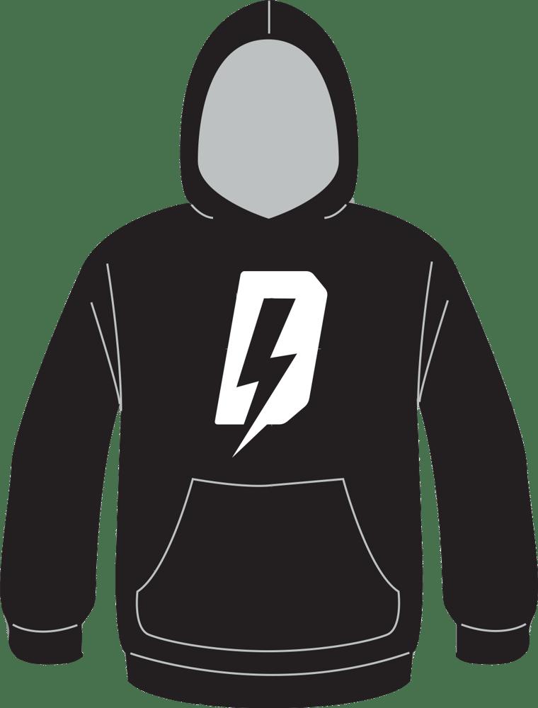 Image of Defiant (White Logo) Hoodie