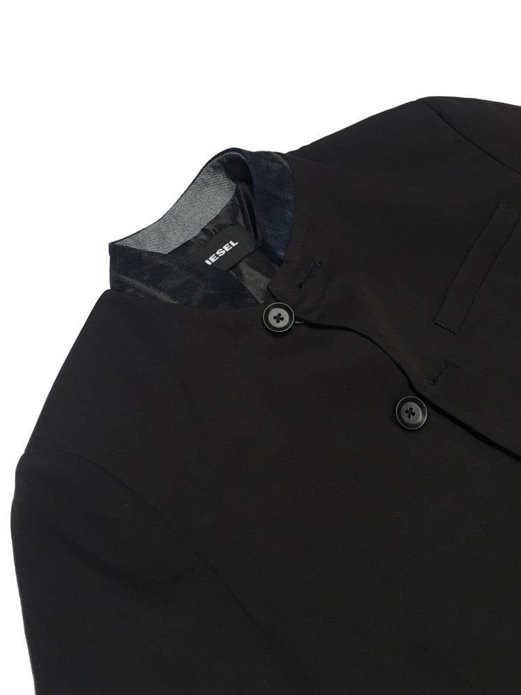 Image of Diesel Collarless Jacket