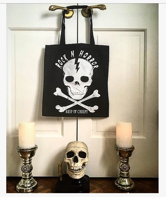 Image of Rock N Horror Tote Bag