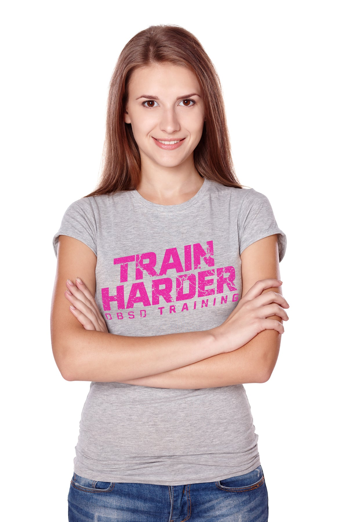 Image of Ladies Train Harder Grey New Collection