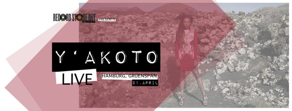 Image of Ticket - Record Store Night - Hamburg - Y'akoto