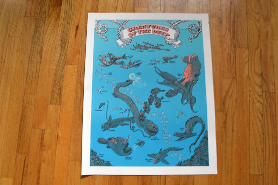 Image of Creatures of the deep print
