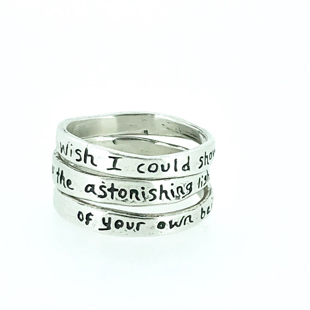 Image of Astonishing light stacking ring set