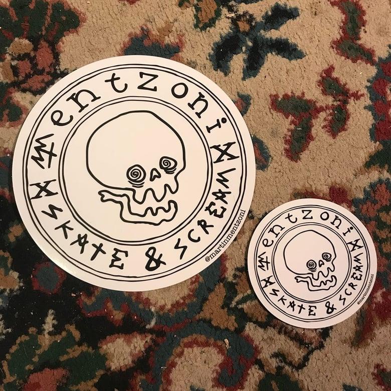 Image of Small Mentzoni Sticker